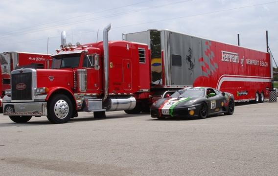 Ferrari Challenge Transport