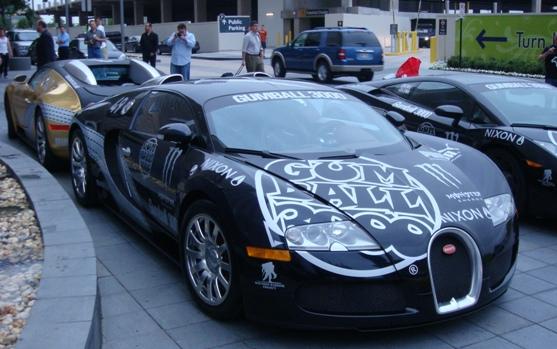 Gumball 3000 2009 Bugatti Veyron